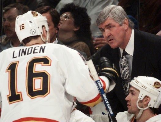Trevor Linden and Pat Quinn.