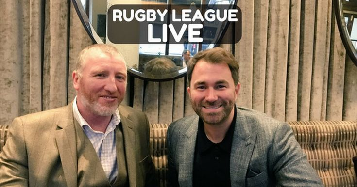 Rugby League LIVE: Eddie Hearn meets with RFL plus the latest Super League news | Bible Of Sport