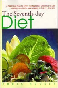 Seventh-Day Diet: Chris Rucker. I got this sort of as a companion to The Ministry of Healing. The author shares her interpretation of what it looks like to eat and live the way White describes. There are some recipes I want to try.