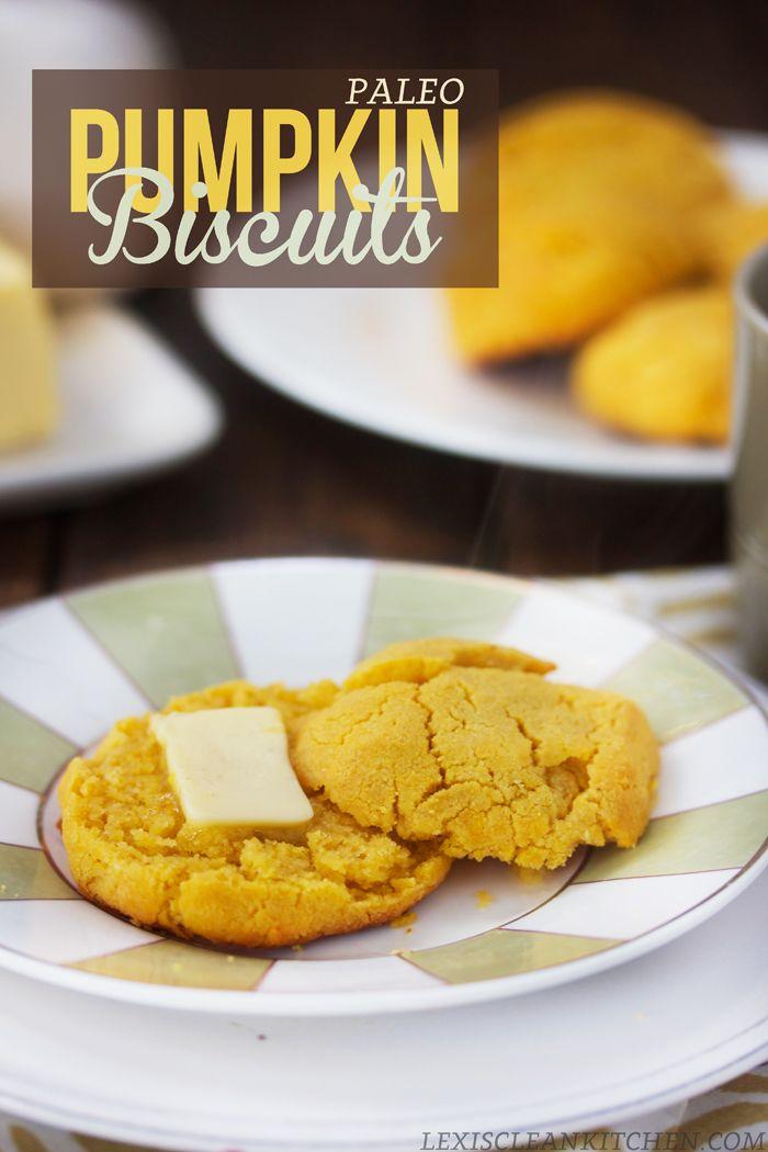 Paleo Pumpkin Biscuits! Gluten-free, dairy-free, paleo-friendly, whole30