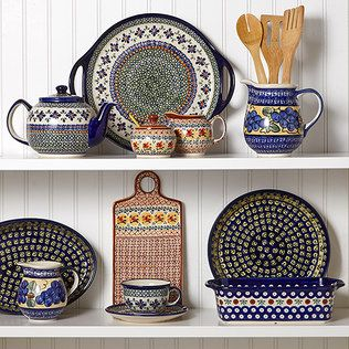 1000 images about polish pottery on pinterest