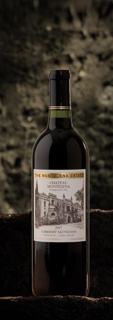 2007 Montelena Estate Cabernet Sauvignon--a full-bodied, dense, rich cab.......excellent wine:)