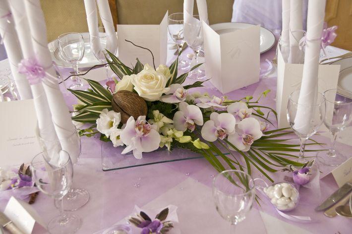 Centre de table decoration tables mariage pinterest mariage google et fleuri - Decoration centre de table mariage ...