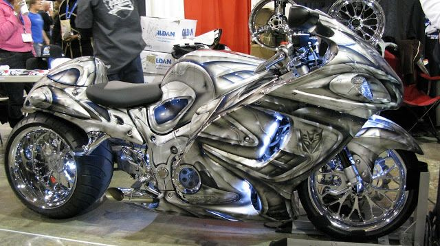 Custom Hayabusa Motorcycles for Sale | Car & Bike Fanatics: Custom Modfifed Suzuki Hayabusa