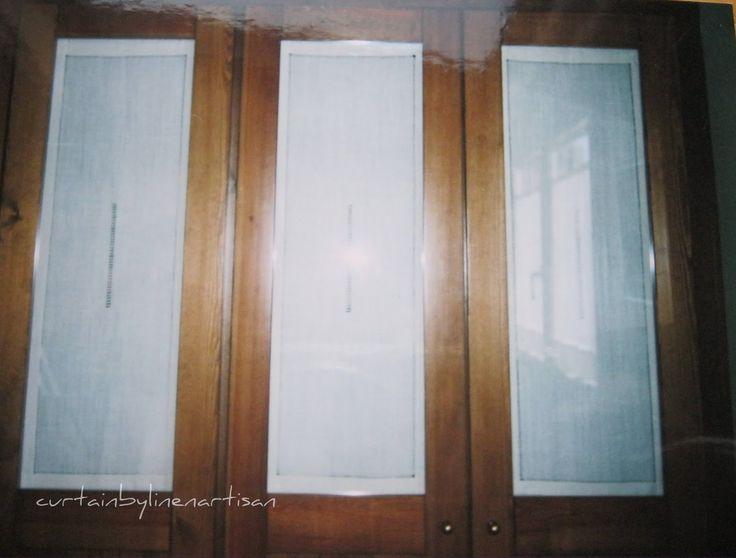 Resultado de imagen de puerta armario visillo