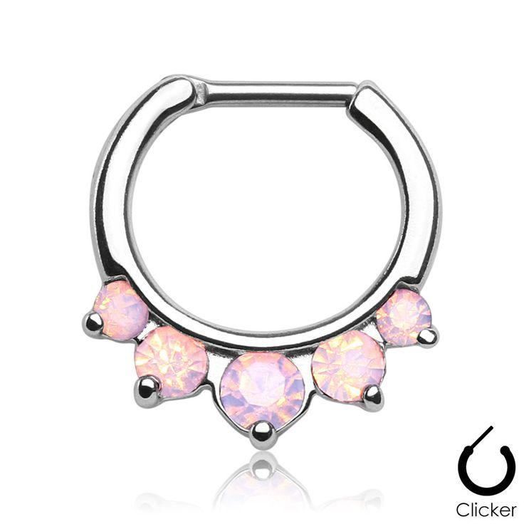 Best 25 septum clicker ideas on pinterest septum for Implant grade septum jewelry