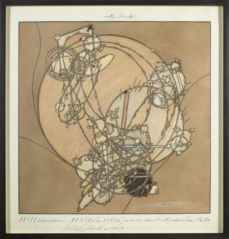 Centricity, 1987  Lebbeus Woods: Early Drawings
