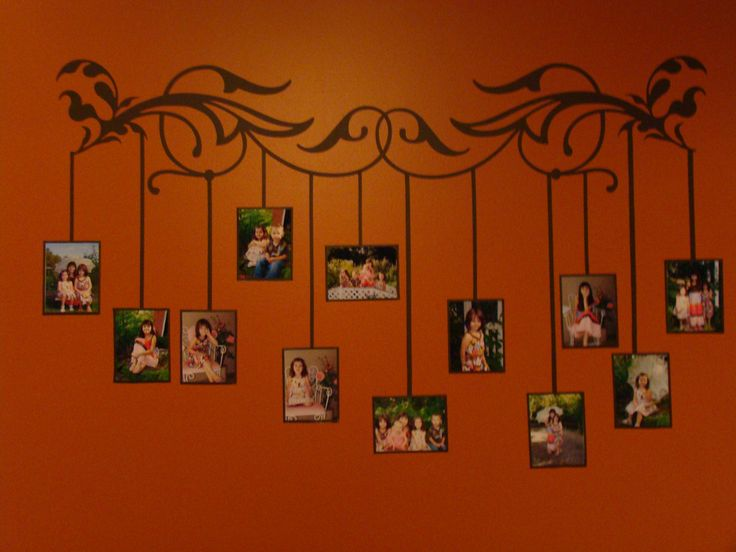diy painting alternative family tree wall display wonderful design and very