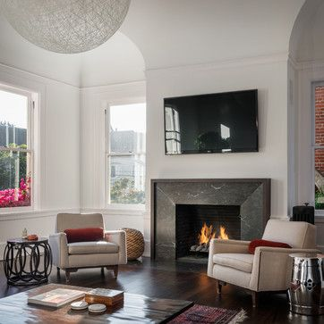 Classic Meets Modern - Pacific Heights - contemporary - living room - san francisco - Sutro Architects