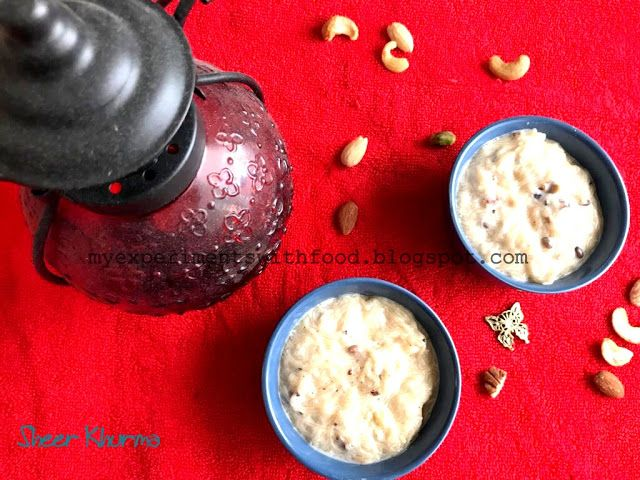 131 best my experiments with food images on pinterest indian my experiments with food easy sheer khurma vermicelli pudding for eid forumfinder Images