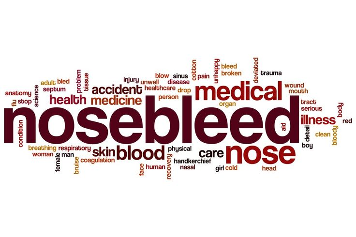 #Epistaxis Is A Fancy Name For Bloody Nose