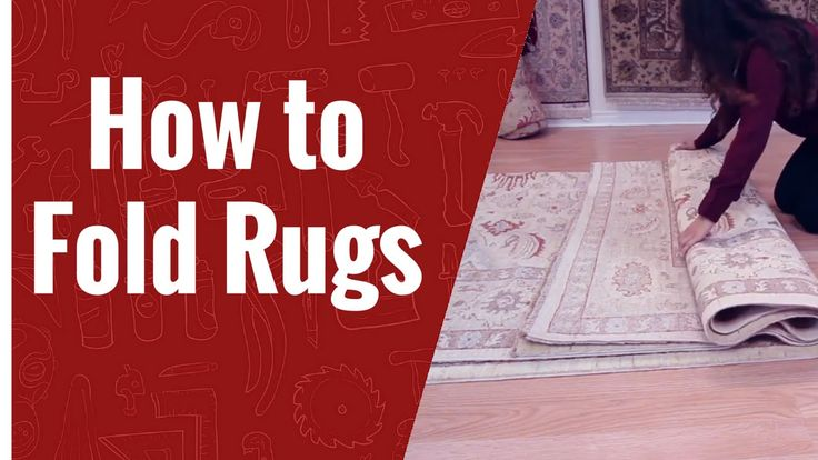 How to Fold a Rug