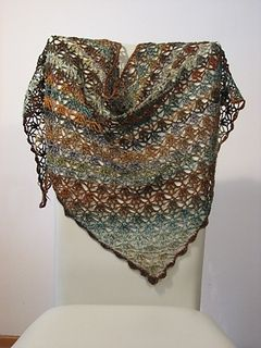 My Blue Jeans Shawl by Knottie by Nature