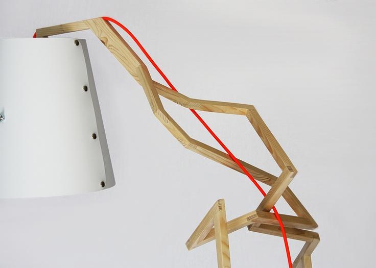 Handmade lamp by Kuiken Design