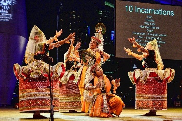 The Aesthetic Manipuri Dance