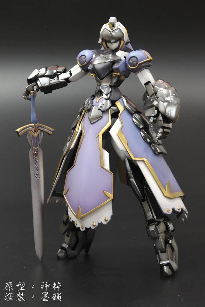 MG 1/100 Saber [FATE/ STAY NIGHT] Wing Gundam Zero EW Resin Conversion Kit - Gundam Kits Collection News and Reviews
