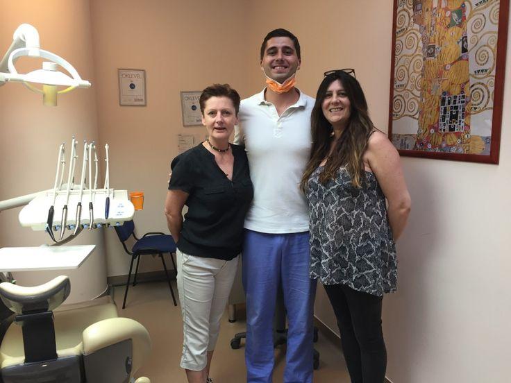 Alison & Nadine after dental treatment with Dr. Adam Bodnar oral surgeon
