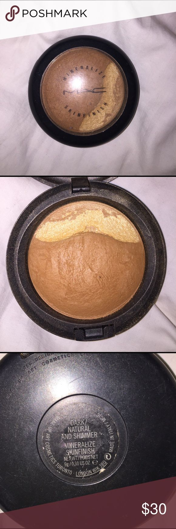 MAC bronzer/highlighter Mac bronzer and highlighter barely used. Accepting offers. Bundle up for discounts MAC Cosmetics Makeup Bronzer