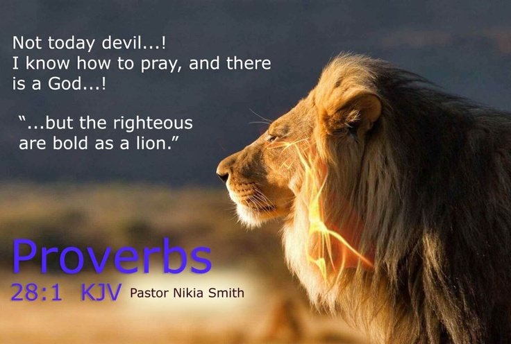 Therefore, submit to God. Resist the devil, and he will run away from you - James 4:7