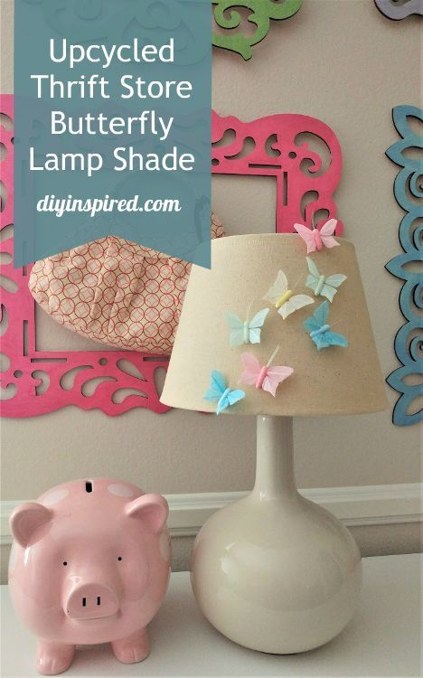 5 Minute Craft: Upcycled Thrift Store Lamp Shade for a Kid's Room