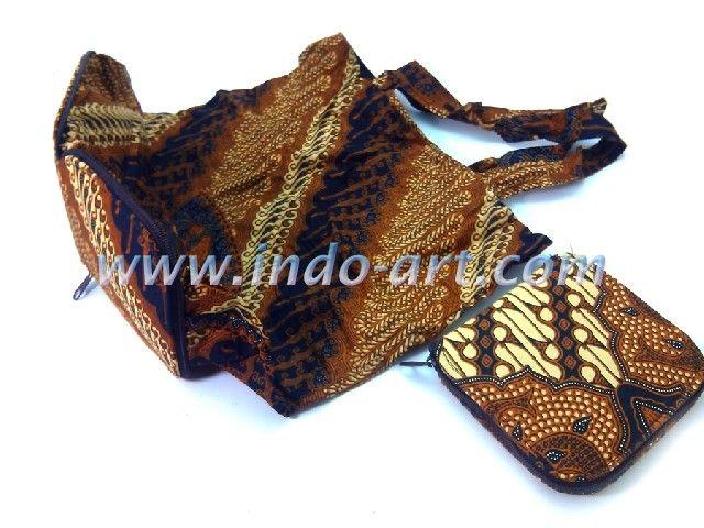 grosir souvenir murah tas batik lipat dompet indonesia
