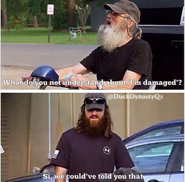 Jase and Uncle Si.