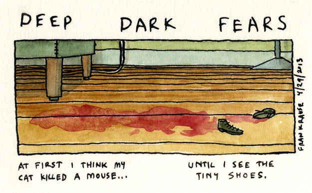 27 Deep Dark Fears That Will Make Your Skin Crawl