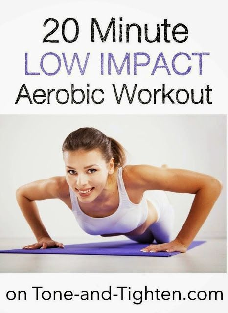20 Minute Low Impact Aerobics Workout