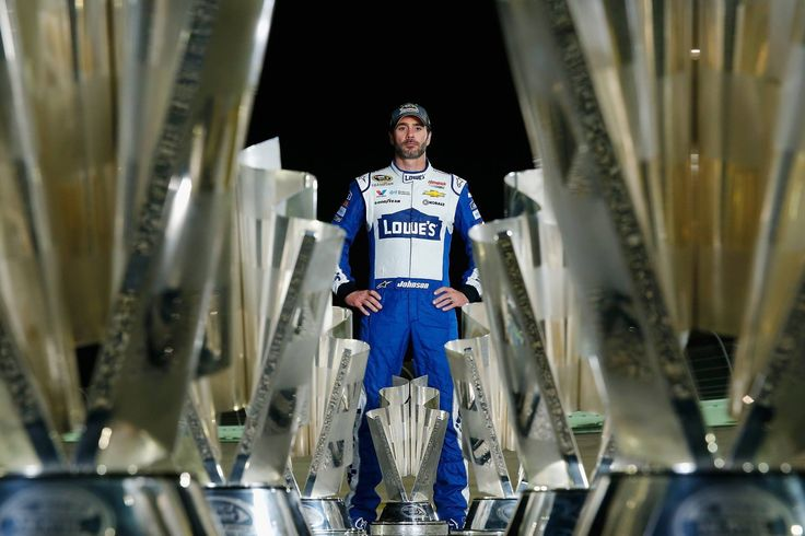 History  making #7 Sprint Cup Champion  Jimmie  Johnson  #48 Lowe's Chevrolet
