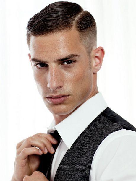 Slick+Back+Hair+Men | frange a linea retta o inclinata: sugli uomini se il taglio geometrico ...