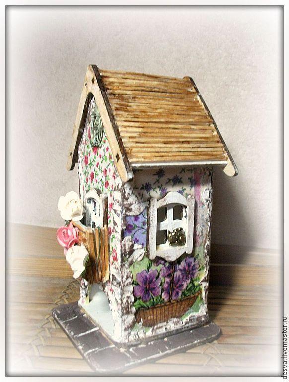 """Купить чайный домик """"Сказки прованса"""" - чайный домик, чайный домик декупаж"""