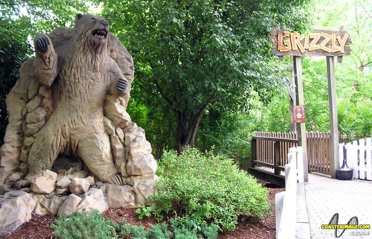 old pictures of kings dominion | Grizzly @ Kings Dominion | Roller Coaster Reviews | The Coaster Critic ...