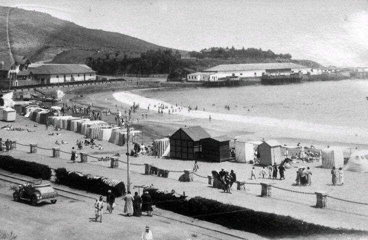 Playa Papudo 1930