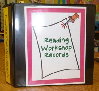 """ASSESSING AND ORGANIZING READER'S WORKSHOP -- based on the book, """"Day-to-Day Assessment in the Reading Workshop"""". Printable forms and ideas for setting up a binder to collect and organize data. (click on Expand to Read More for the full article)"""