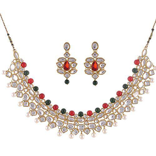 Stunning Red & Green Pearls Indian Bollywood Wedding Wear... https://www.amazon.com/dp/B01MUDLRN6/ref=cm_sw_r_pi_dp_x_YLxLybJHRD10P