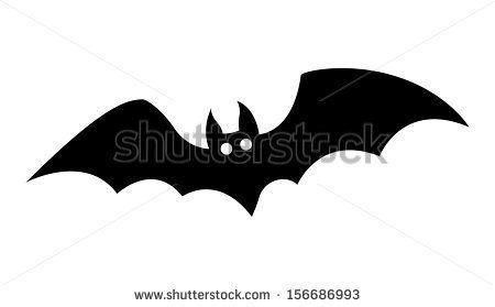 bat silhouettes - Halloween vector illustration by VectorShots, via ShutterStock