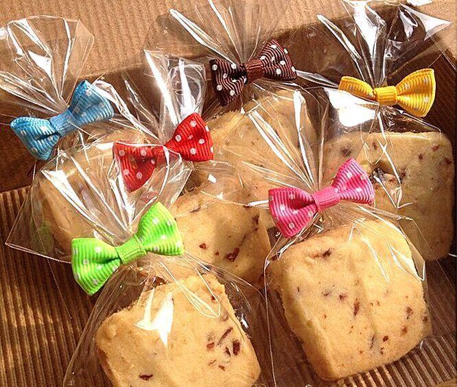 Bowknot padrão vedação de embalagem padaria arame de selagem pão bolo decoração laço de torção do fio alishoppbrasil
