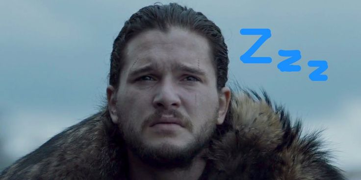 "Kit Harington, who plays Jon Snow on ""Game of Thrones,"" reveals he actually slept through parts of the most highly-anticipated scene of the year."