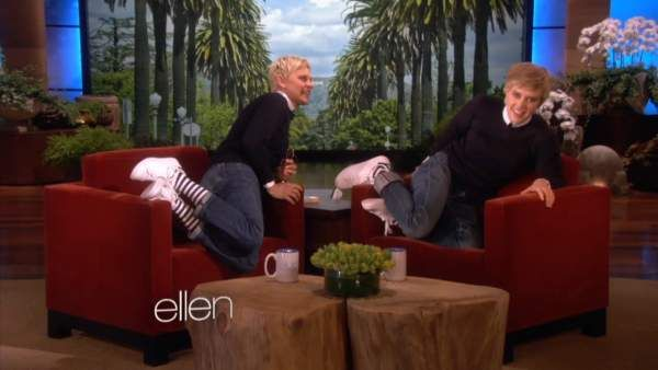 kate mckinnon ellen degeneres impersonation april 2013 - I don't know how I missed this, but it's awesome!