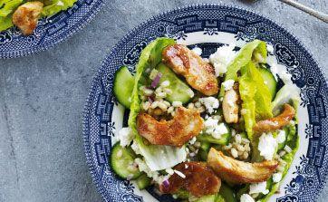 Madplan: Salat med kylling og bacon | Femina