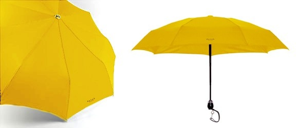 DAVEK- Traveler Umbrella Yellow - DAVEK Umbrellas - Boston & Boston by BRAND