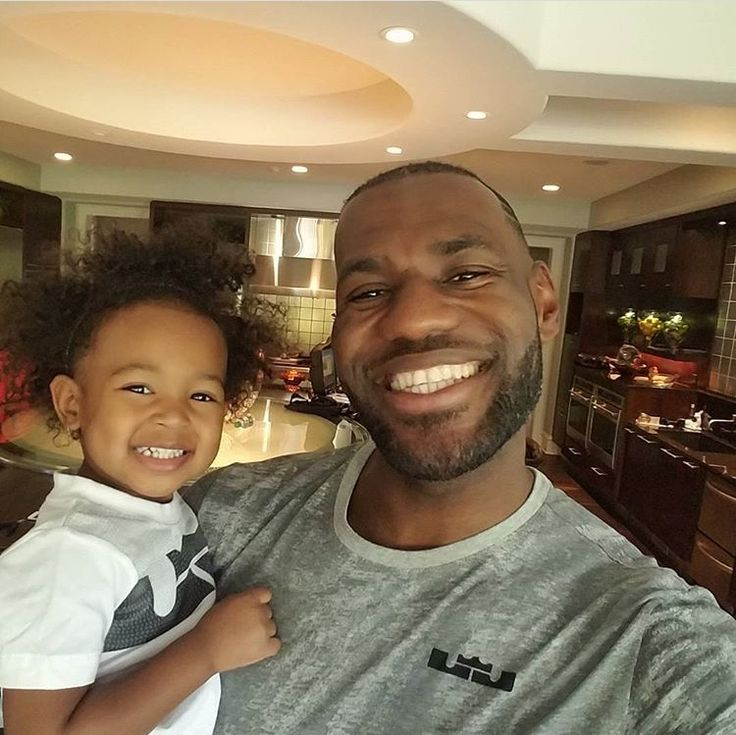 LeBron gets a lot of haters but no matter if you like him or not he is a great Dad. And does a lot of good things for people!! So let's stop hating and focus on the good in all people!!