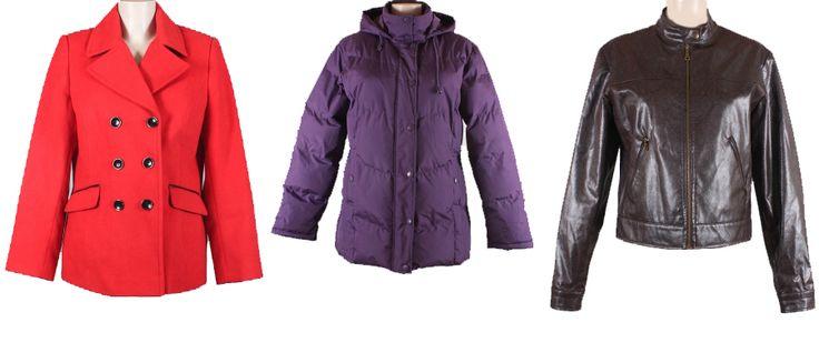 Сток куртки женские