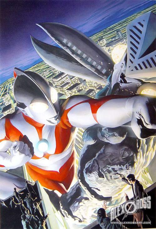 ULTRAMAN artwork by Alex Ross