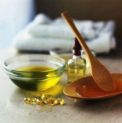 Vitamina E y vinagre de manzana, para las arrugas del cuello..