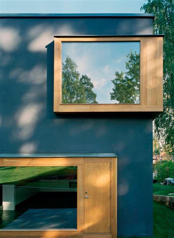 projected windows @ Double house / Tham & Videgård Hansson
