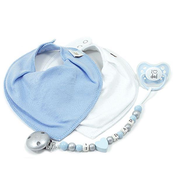 Littlemico™ Blue Gift Set, I Love Dad.