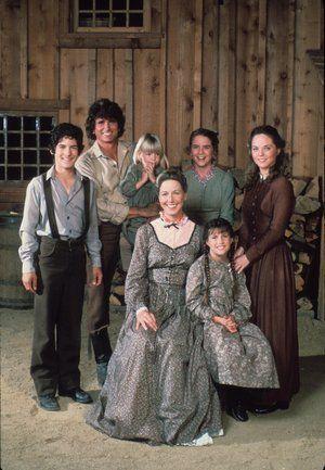 """Unsere kleine Farm: So kennt man Familie Ingalls aus der Serie """"Unsere kleine Farm""""."""