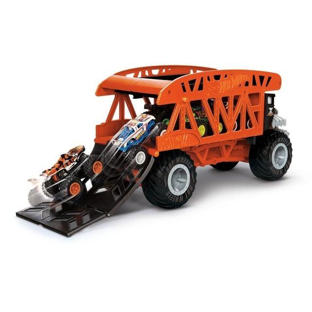 Hot Wheels Monster Truck Coches De Juguetes Mover Bone Shaker En 2021 Hot Wheels Coches De Juguete Camion Monstruo