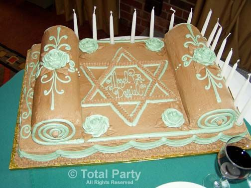 Torah Cake 2/ This site is cakes for sale, but this is a sweet idea!